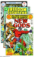 Bronze Age (1970-1979):Miscellaneous, DC Bronze Group (DC, 1972-78) Condition: Average VF. This grouptakes you from the Fourth World through those heady days of ...(Total: 16 Comic Books Item)