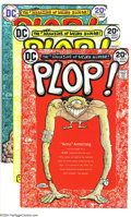 Bronze Age (1970-1979):Miscellaneous, DC Bronze Group (DC, 1972-74). This lot consists of Plop #1 (twocopies), 2-4, Shadow #1 (two copies), Forever Peo... (Total: 9Comic Books Item)