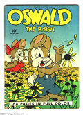 Golden Age (1938-1955):Funny Animal, Four Color #21 Oswald the Rabbit (Dell, 1943) Condition: VG+.Walter Lantz cover. Overstreet 2003 VG 4.0 value = $100. ...