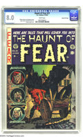 Golden Age (1938-1955):Horror, Haunt of Fear #21 (EC, 1953) CGC VF 8.0 White pages. Graham Ingels,Jack Davis, Reed Crandall, and Jack Kamen art. Graham In...