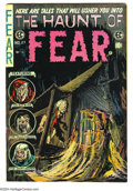 Golden Age (1938-1955):Horror, Haunt of Fear #27 (EC, 1954) Condition: FN-. Graham Ingels cover.Jack Kamen, George Evans, and Reed Crandall art. Overstree...