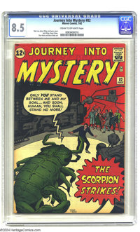 Journey into Mystery #82 (Marvel, 1962) CGC VF+ 8.5 Cream to off-white pages. Jack Kirby cover. Kirby, Gene Colan, and S...