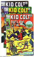 Bronze Age (1970-1979):Western, Kid Colt Outlaw Group (Marvel, 1969-70) Condition: Average VF-. This lot consists of issues #140, 141, and 143-147. Overstre... (Total: 7 Comic Books Item)