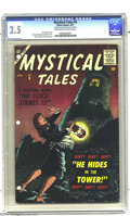 Silver Age (1956-1969):Horror, Mystical Tales #6 (Atlas, 1957) CGC GD+ 2.5 Off-white to whitepages. Bill Everett cover. Bernard Krigstein, Angelo Torres, ...