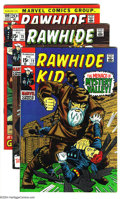 Bronze Age (1970-1979):Western, Rawhide Kid Group (Marvel, 1969-74) Condition: Average VF-. This lot consists of issues #72, 73, 100-105, 119, and King-Size... (Total: 10 Comic Books Item)