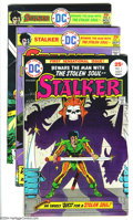 Bronze Age (1970-1979):Miscellaneous, Stalker Group (DC, 1975) Condition: VF/NM. This group includes fourcopies of #1, three copies of #2, and one copy of #3. Ov... (Total:8 Comic Books Item)