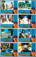 """Movie Posters:Fantasy, Clash of the Titans (MGM, 1981). Very Fine+. Lobby Card Set of 8 (11"""" X 14""""). Fantasy.. ... (Total: 8 Items)"""