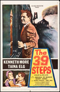 """Movie Posters:Thriller, The 39 Steps (20th Century Fox, 1960). Folded, Fine/Very Fine. One Sheet (27"""" X 41""""). Thriller.. ..."""