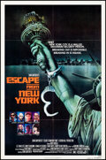 """Movie Posters:Science Fiction, Escape from New York (Avco Embassy, 1981). Folded, Fine/Very Fine. One Sheet (27"""" X 41"""") SS Advance, Stan Watts Artwo..."""
