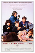 """Movie Posters:Drama, The Breakfast Club (Universal, 1985). Rolled, Very Fine-. One Sheet (27"""" X 41"""") SS. Drama.. ..."""
