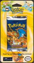 Memorabilia:Trading Cards, Pokémon Shadowless Set Sealed Blister Pack (Wizards of the Coast, 1999)....