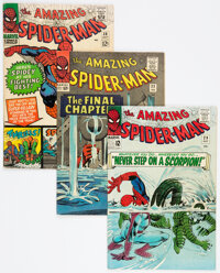 The Amazing Spider-Man Group of 4 (Marvel, 1965-67) Condition: Average FN-.... (Total: 4 )