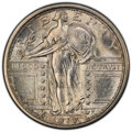 1917 25C Type One MS64 Full Head PCGS. PCGS Population: (2237/1939 and 26/98+). NGC Census: (1463/1187 and 23/30+). CDN:...