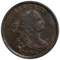 1804 1/2 C Spiked Chin AU55 PCGS. PCGS Population: (38/57 and 1/1+). NGC Census: (0/0 and 0/0+). CDN: $775 Whsle. Bid fo...