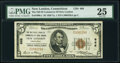 New London, CT - $5 1929 Ty. 1 The National Bank of Commerce of New London Ch. # 666 PMG Very Fine 25.<