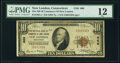 New London, CT - $10 1929 Ty. 1 The National Bank of Commerce of New London Ch. # 666 PMG Fine 12.<