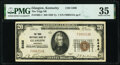 National Bank Notes:Kentucky, Glasgow, KY - $20 1929 Ty. 1 The Trigg National Bank Ch. # 5486 PMG Choice Very Fine 35.. ...