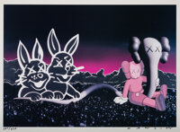 KAWS (b. 1974) Undefeated Billboard, 2004 Offset lithograph in colors on paper 19 x 26 inches (48.3 x 66 cm) (sheet)