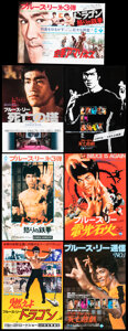 Movie Posters:Action, Enter the Dragon & Other Lot (Warner Bros., 1973). Very Fi...