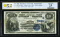 National Bank Notes:Pennsylvania, Grove City, PA - $10 1882 Date Back Fr. 542 The First National Bank Ch. # (E)5044 PCGS Banknote Very Fine 25.. ...