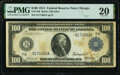 Fr. 1108 $100 1914 Federal Reserve Note PMG Very Fine 20