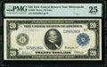 Fr. 996 $20 1914 Federal Reserve Note PMG Very Fine 25