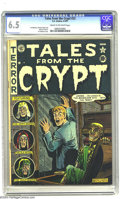 Golden Age (1938-1955):Horror, Tales From the Crypt #23 (EC, 1951) CGC FN+ 6.5 Cream to off-whitepages. Al Feldstein, Graham Ingels, and Johnny Craig art....