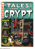 Golden Age (1938-1955):Horror, Tales From the Crypt #27 (EC, 1951) Condition: FN+. Wally Woodcover. Jack Kamen, Jack Davis, Joe Orlando, and Graham Ingels...