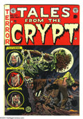 Golden Age (1938-1955):Horror, Tales From the Crypt #37 (EC, 1953) Condition: FN/VF. Jack Daviscover. Joe Orlando, Bill Elder, and Graham Ingels art. Over...