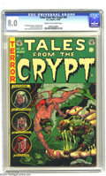 Golden Age (1938-1955):Horror, Tales From the Crypt #40 (EC, 1954) CGC VF 8.0 Cream to off-whitepages. According to Overstreet, this comic was shown in Se...