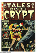 Golden Age (1938-1955):Horror, Tales From the Crypt #41 (EC, 1954) Condition: FN. Jack Daviscover. Davis, George Evans, Jack Kamen, and Graham Ingels art....