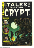 Golden Age (1938-1955):Horror, Tales From the Crypt #46 (EC, 1955) Condition: FN-. Last issue.Jack Davis cover. Davis, George Evans, Joe Orlando, and Grah...