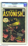 Silver Age (1956-1969):Horror, Tales to Astonish #33 (Marvel, 1962) CGC FN 6.0 Off-white to whitepages. Jack Kirby cover. Kirby and Steve Ditko art. Overs...