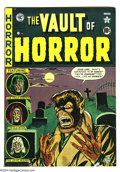 Golden Age (1938-1955):Horror, Vault of Horror #17 (EC, 1951) Condition: FN+. Johnny Craig cover.Overstreet 2003 FN 6.0 value = $165....