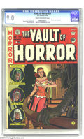 Golden Age (1938-1955):Horror, Vault of Horror #23 (EC, 1952) CGC VF/NM 9.0 Cream to off-whitepages. Used in Parade of Pleasure. Johnny Craig cover. J...