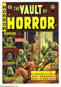 Golden Age (1938-1955):Horror, Vault of Horror #29 (EC, 1953) Condition: FN-. Johnny Craig cover.Overstreet 2003 FN 6.0 value = $84....