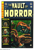 Golden Age (1938-1955):Horror, Vault of Horror #34 (EC, 1954) Condition: FN+. Johnny Craig cover.Overstreet 2003 FN 6.0 value = $84....