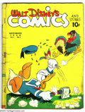 Golden Age (1938-1955):Funny Animal, Walt Disney's Comics and Stories #2 (Dell, 1942) Condition: FR.Overstreet 2003 GD 2.0 value = $553....
