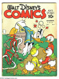 Golden Age (1938-1955):Funny Animal, Walt Disney's Comics and Stories #14 (Dell) Condition: GD/VG.Overstreet 2003 GD 2.0 value = $71; VG 4.0 value = $142....
