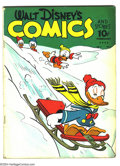 Golden Age (1938-1955):Funny Animal, Walt Disney's Comics and Stories #17 (Dell) Condition: VG-.Overstreet 2003 VG 4.0 value = $134....