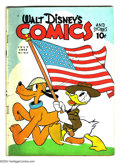 Golden Age (1938-1955):Funny Animal, Walt Disney's Comics and Stories #22 (Dell) Condition: GD/VG.Overstreet 2003 GD 2.0 value = $46; VG 4.0 value = $92....