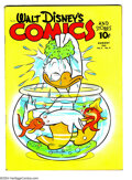 Golden Age (1938-1955):Funny Animal, Walt Disney's Comics and Stories #23 (Dell) Condition: VG-.Overstreet 2003 VG 4.0 value = $92....