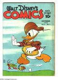 Golden Age (1938-1955):Funny Animal, Walt Disney's Comics and Stories #26 (Dell) Condition: VG.Overstreet 2003 VG 4.0 value = $92....