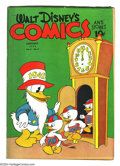 Golden Age (1938-1955):Funny Animal, Walt Disney's Comics and Stories #28 (Dell) Condition: GD/VG.Overstreet 2003 GD 2.0 value = $46; VG 4.0 value = $92....