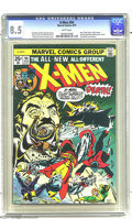 Bronze Age (1970-1979):Superhero, X-Men #94 (Marvel, 1975) CGC VF+ 8.5 White pages. New X-Men begin,by Chris Claremont and Dave Cockrum. Sunfire leaves the g...