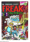Bronze Age (1970-1979):Alternative/Underground, The Fabulous Furry Freak Brothers #1 (Rip Off Press, 1971) Condition: GD/VG. Sixth printing copy. Art by Gilbert Shelton. Un...