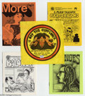 """Bronze Age (1970-1979):Alternative/Underground, Off the Cuff Comix Set 2 (San Francisco Comic Book Company, 1972) Condition: Average NM-. Consists of four eight-page """"mini-... (Total: 5 Comic Books Item)"""