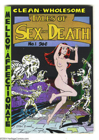 Tales of Sex and Death #1 (Print Mint, 1971) Condition: VF/NM. Art by Roger Brand, Bill Griffith, Justin Green, S. Clay...