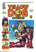 Silver Age (1956-1969):Alternative/Underground, Yellow Dog #13 (Print Mint, 1969) Condition: FN/VF. A great RobertCrumb cover kicks off this Underground anthology, featuri...