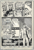 Original Comic Art:Splash Pages, Wayne Boring and Pablo Marcos - Superman #402, Splash Page OriginalArt (DC, 1984). Clark awakes from slumber, believing he ...